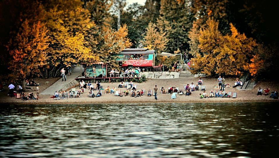 Romai Part, Budapest