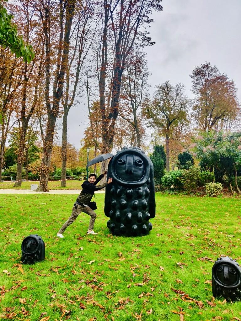 Jardin des abords du Petit-Palais- chasing whereabouts