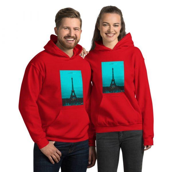 Paris Unisex Hoodie 2