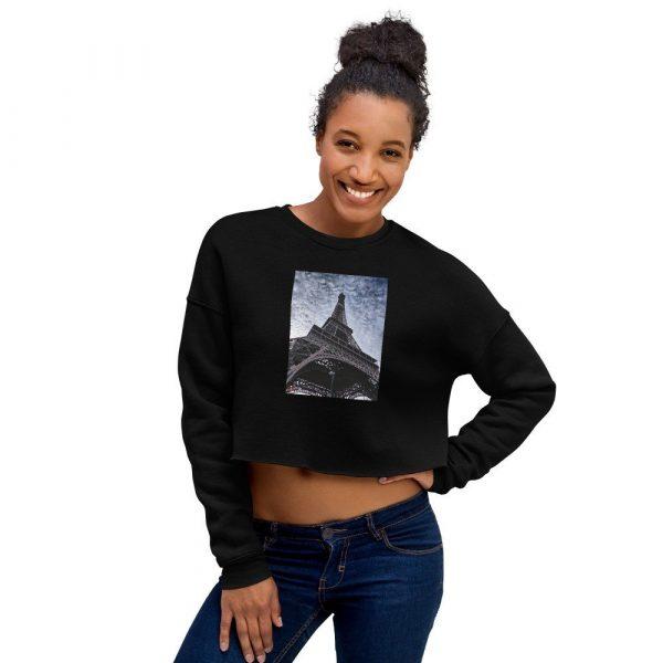 Eiffel Tower Crop Sweatshirt 1