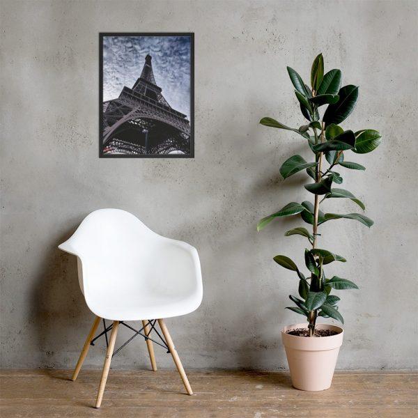 Eiffel Tower - Framed poster 3