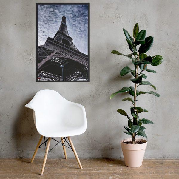 Eiffel Tower - Framed poster 1