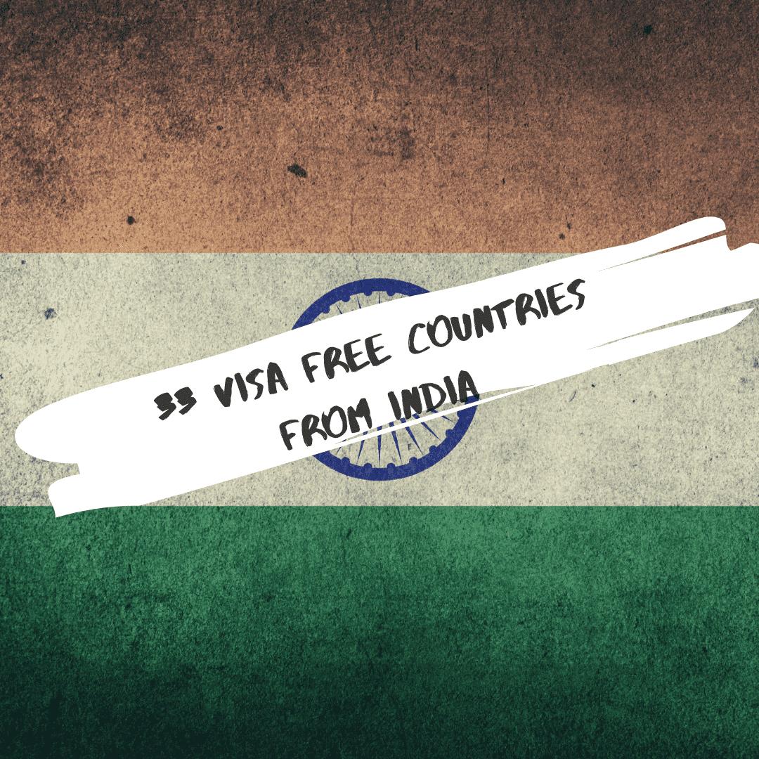 Chasing Whereabouts Visa Free India