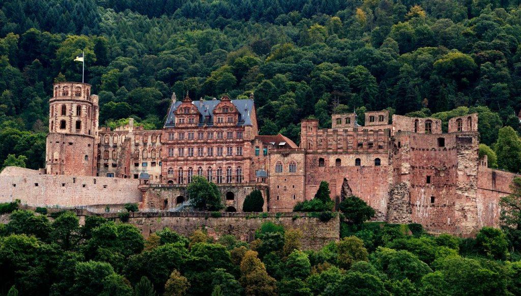 Fairytale Castle in Germany - Heidelberg Castle