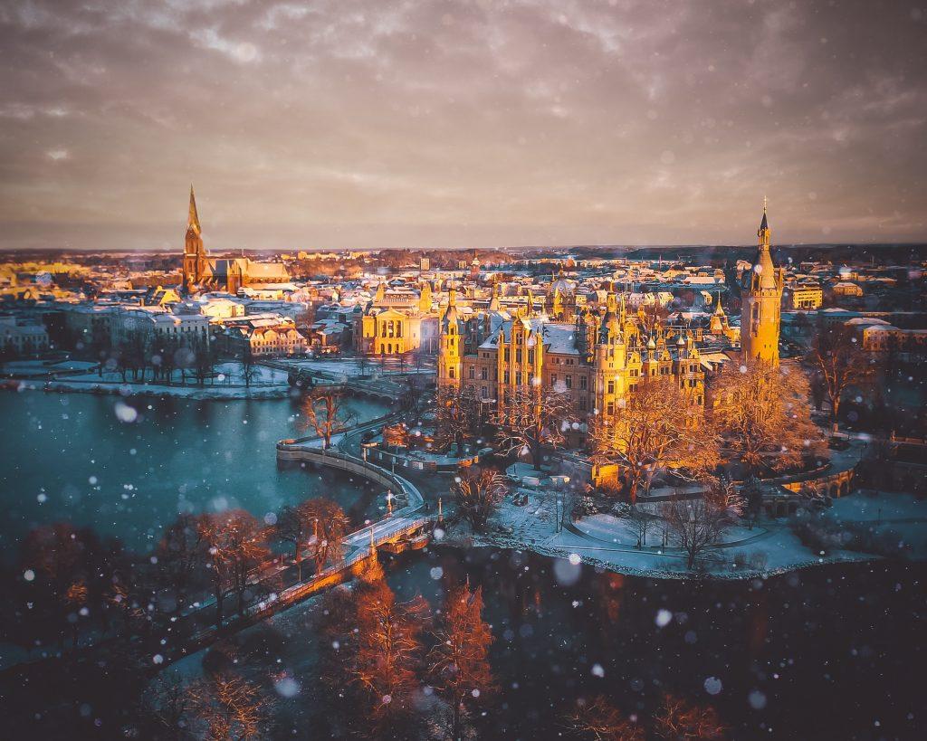 Fairytale Castle in Germany - Schwerin Castle