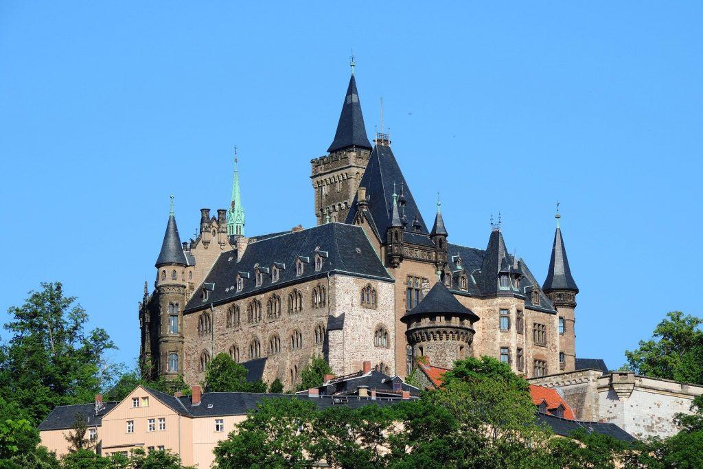 Fairytale Castle in Germany - Wernigerode Castle