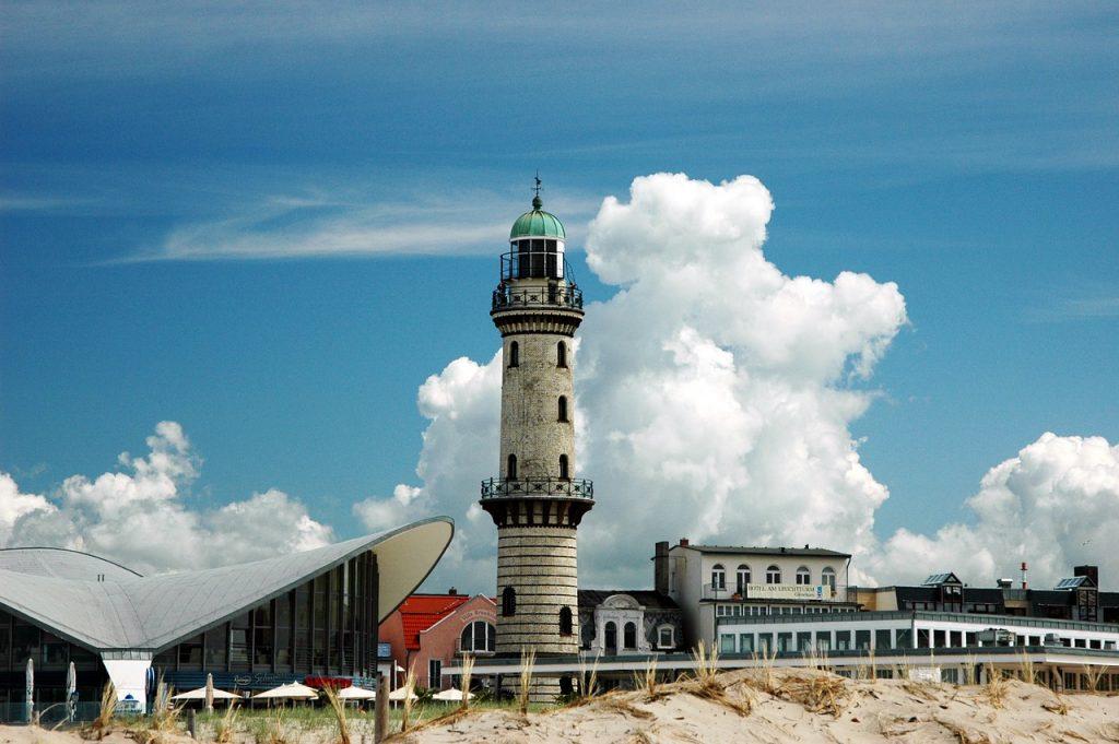 Best Beaches in Germany - Warnemünde lighthouse - Baltic Sea