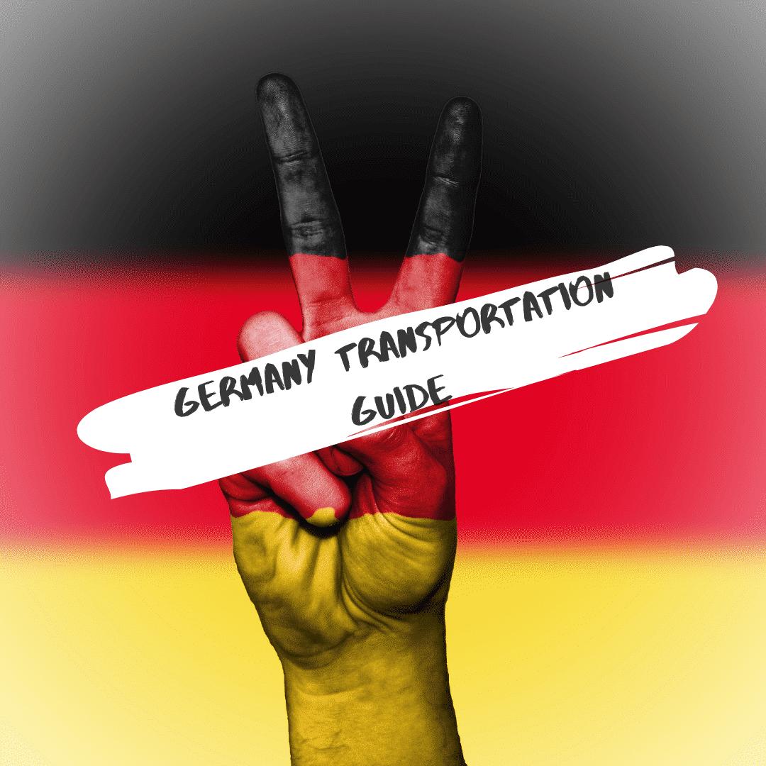 GERMANY TRAVEL TRANSPORTATION GUIDE TRAIN