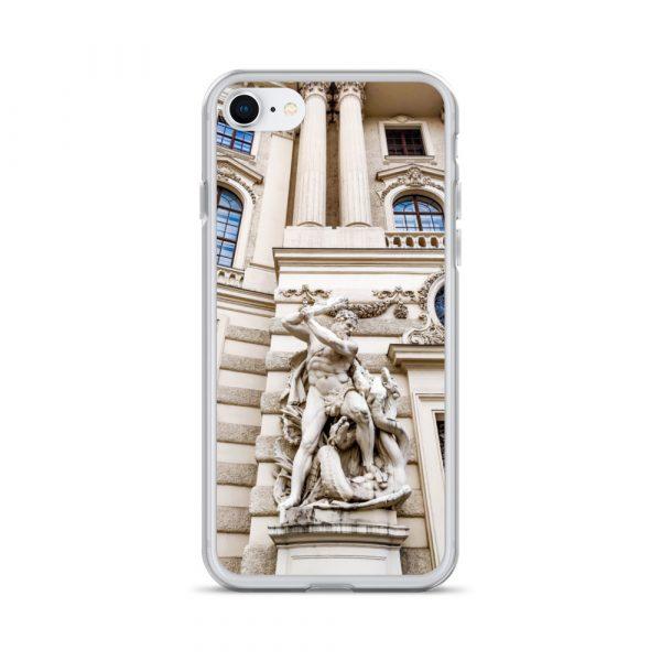 Vienna Statue - Liquid Glitter iPhone Case 1