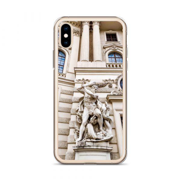 Vienna Statue - Liquid Glitter iPhone Case 4