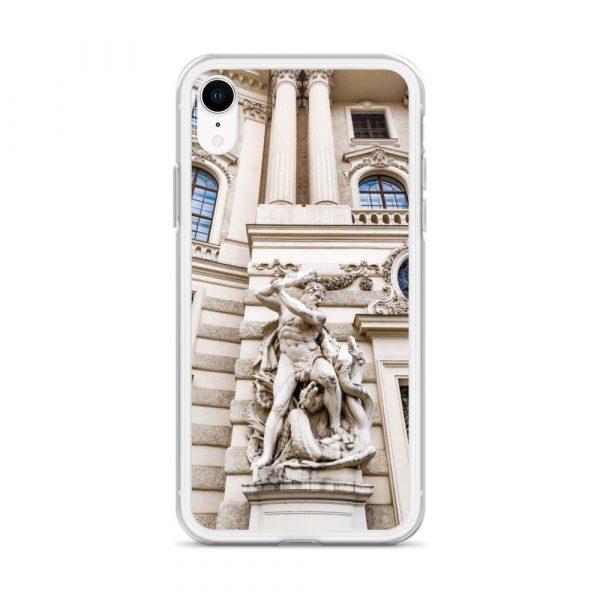 Vienna Statue - Liquid Glitter iPhone Case 10