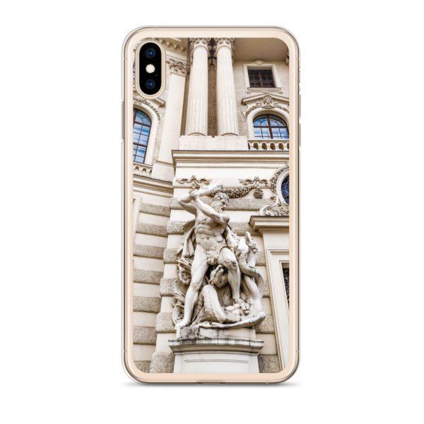 Vienna Statue - Liquid Glitter iPhone Case 7