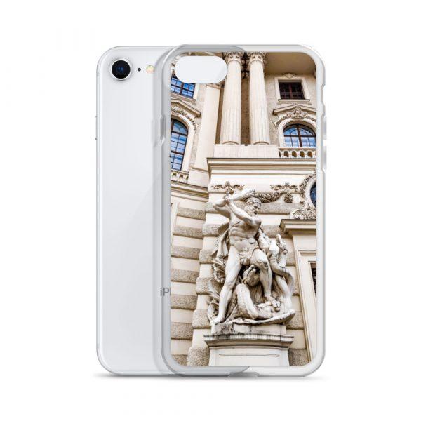 Vienna Statue - Liquid Glitter iPhone Case 2
