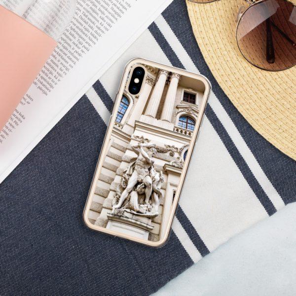 Vienna Statue - Liquid Glitter iPhone Case 6