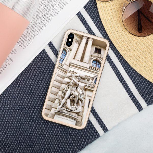 Vienna Statue - Liquid Glitter iPhone Case 9