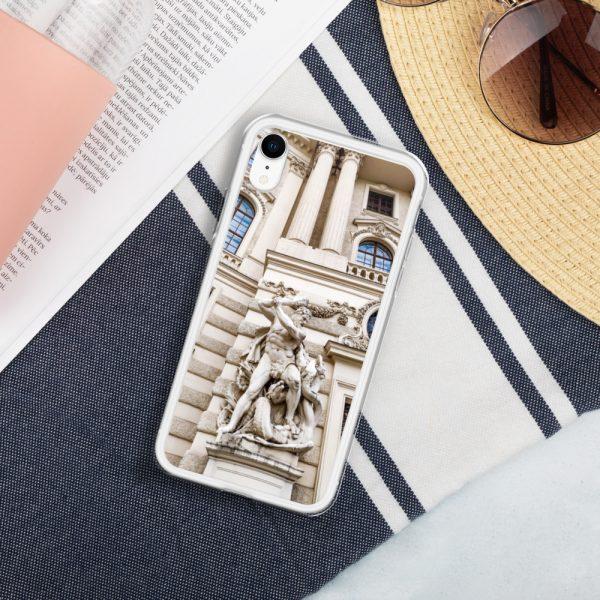 Vienna Statue - Liquid Glitter iPhone Case 12