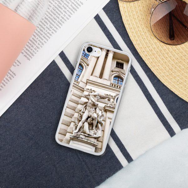 Vienna Statue - Liquid Glitter iPhone Case 3