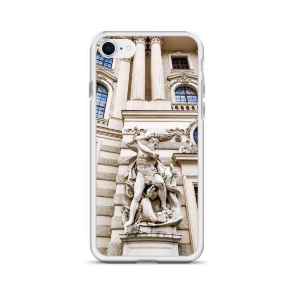 Vienna Statue - Liquid Glitter iPhone Case 13