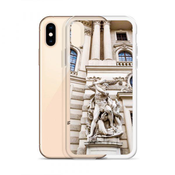 Vienna Statue - Liquid Glitter iPhone Case 5